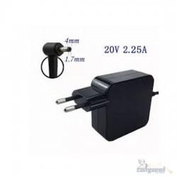 Fonte Notebook Lenovo 20v 2.25a pino 4x1.7mm